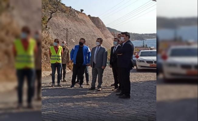 Çanakkale Valisi İlhami Aktaş Assos'ta devam eden çalışmaları inceledi