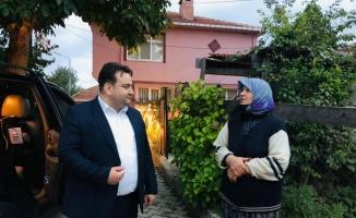 Demirköy Belediye Başkanı Gün'den yaşlılara ziyaret