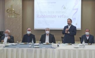 Diyanet İşleri Başkanı Erbaş, Sakarya'da emekli İmam Hatip Lisesi öğretmenleriyle buluştu