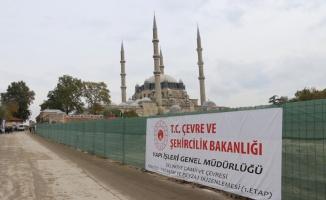 Edirne Belediye Başkanı Gürkan'dan Selimiye Meydanı düzenleme çalışmaları hakkında açıklama: