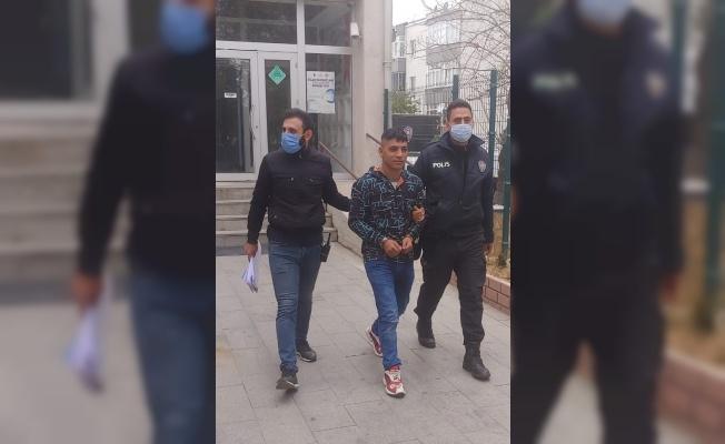 Edirne'de dükkandan çanta ve para çalan hırsızlık zanlısı tutuklandı