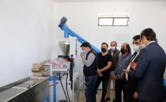 Edirne'de kurulan geri dönüşüm tesisinde zirai ambalajlar değerlendirilecek