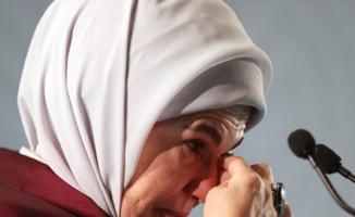 Emine Erdoğan Kudüs konferansına katıldı