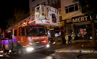 Gaziosmanpaşa'da kardeşiyle kavga eden kişi bulundukları evi ateşe verdi