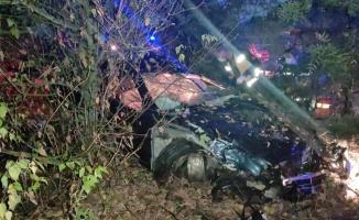 Kırklareli'nde trafik kazasında Çin uyruklu 1 kişi öldü, 4 kişi yaralandı