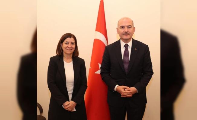 KEFEK Başkanı Aksal, İçişleri Bakanı Soylu ile görüştü