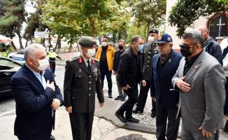 Kıbrıs gazisi İsmet Ekal son yolculuğuna uğurlandı