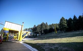 Kış turizminin gözdesi Uludağ kayak sezonuna hazırlanıyor