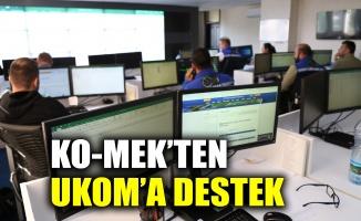 KO-MEK'ten UKOM'a destek
