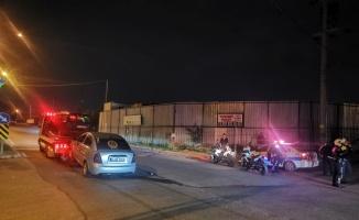 Kocaeli'de iki otomobil çarpıştığı kazada 1 kişi yaralandı