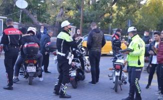 Lüleburgaz'da motosikletlere yönelik denetim yapıldı