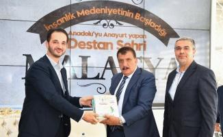 Malatya Büyükşehir'e UDEF'ten ziyaret