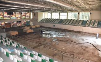 Manisa'da Tarık Almış Spor Tesisi'ne kapsamlı bakım