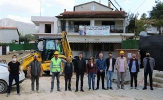 Manisa Karakoca'da modernleşme çalışmaları