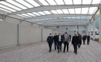 Manisa Kırkağaç'ta İtfaiye ve Şantiye Binası açılıyor
