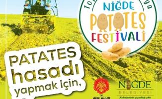 Niğde'de Patates Festivali yapılacak