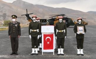 Pençe Yıldırım şehidi, Osmaniye'de son yolculuğuna uğurlandı