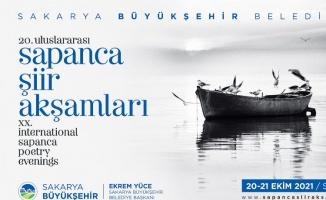 Sakarya'da 20. Uluslararası Sapanca Şiir Akşamları başlıyor