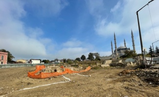 Selimiye Meydanı kazılarında Roma döneminden kalma aile mezarlığı bulundu
