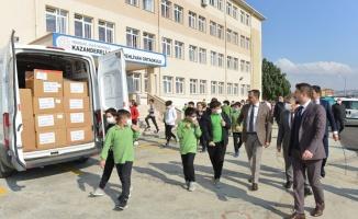 Süleymanpaşa Belediyesinden bin 111 öğrenciye eğitim malzemesi desteği