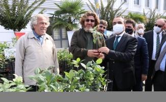 Tarım ve Orman Bakan Yardımcısı Özkaldı, Yalova'da aronya fidesi dağıtımına katıldı: