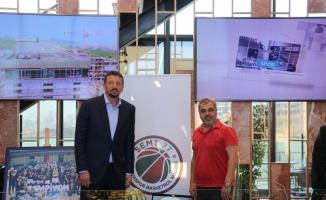 TBF Başkanı Hidayet Türkoğlu Yalova'da