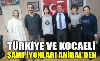 Türkiye ve Kocaeli şampiyonları Anibal'den