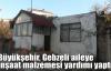 Büyükşehir''den Gebzeli aileye inşaat malzemesi yardımı
