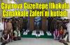 Çayırova Güzeltepe İlkokulu Çanakkale Zaferi'ni kutladı