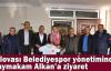Dilovası Belediyespor yönetiminden Kaymakam'a ziyaret
