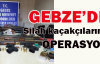 Gebze'de silah operasyonu