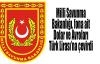 Milli Savunma Bakanlığı, fona ait Dolar ve Avroları Lira'ya çevirdi