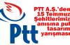 PTT A.Ş.'den 15 Temmuz Şehitlerimiz anısına pul tasarım yarışması