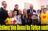 Üzülmez'den Bosna'da Türkçe sınıfı
