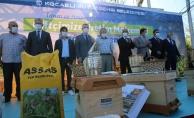 Kocaeli arıcısına binlerce arı kovanı