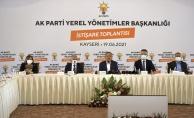 AK Partiden Kayseride istişare toplantısı