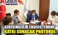 Girişimcilik ekosistemine katkı sunacak protokol imzalandı