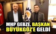 MHP Gebze, Başkan Büyükgöze geldi