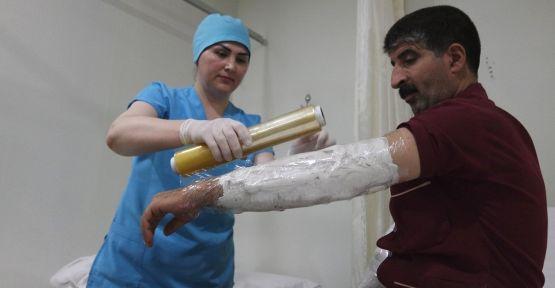 Tıbbi çamurla ağrısız yaşama kavuşuyorlar