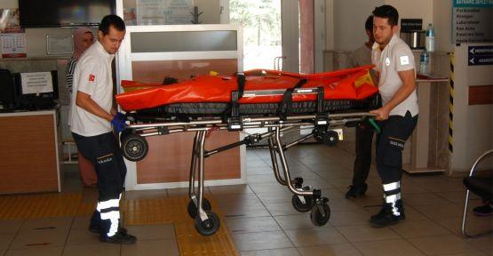 Traktörden düşen 4 yaşındaki çocuk yaralandı
