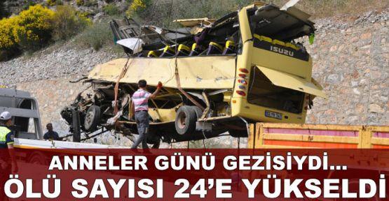 Tur midibüsü faciası: 24 ölü