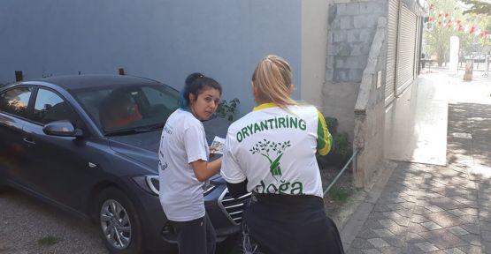Türkiye 1. Kademe Oryantiring Yarışı Gebze'de başladı
