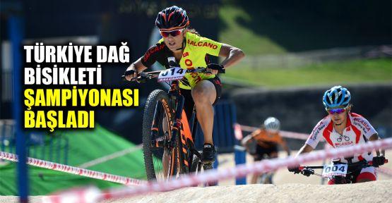 Türkiye Dağ Bisikleti Şampiyonası başladı
