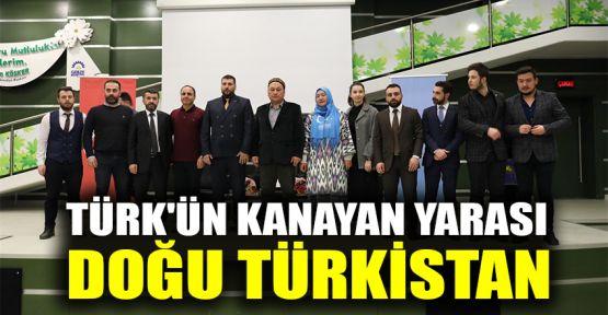 Türk'ün kanayan yarası Doğu Türkistan