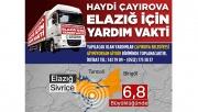 Çayırova'dan deprem bölgesine yardım kampanyası