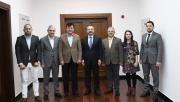 Gebze Trabzonlular Derneği Vali Aksoy'u ziyaret etti