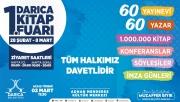 Darıca'da Kitap Fuarı, 28 Şubat'ta başlıyor