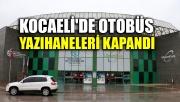 Kocaeli'de yazıhaneler kapandı