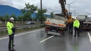 Gebze'de zincirleme trafik kazasında 3 kişi yaralandı