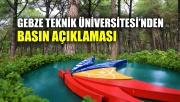 Gebze Teknik Üniversitesi'nden basın açıklaması